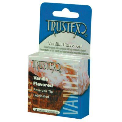 Preservativo con sabor a vainilla