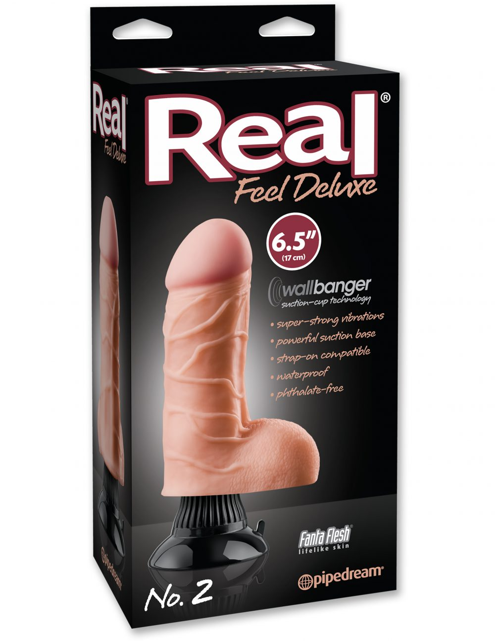 Vibrador real feel deluxe N°2