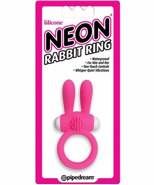 anillo vibrador neon