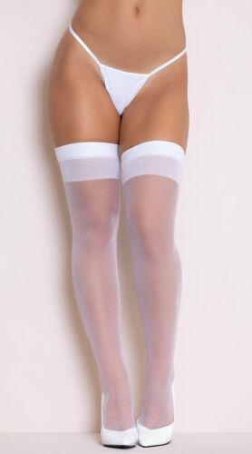 medias veladas blancas