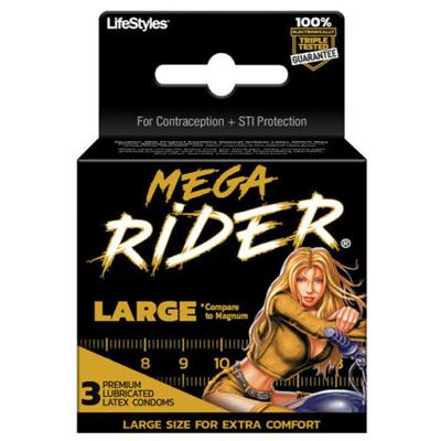 Preservativos mega rider