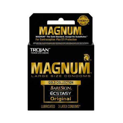 preservativos trojan magnum