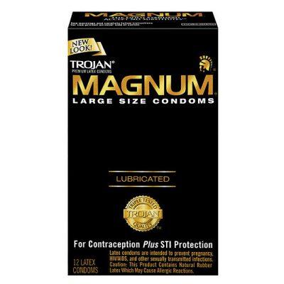 caja preservativos magnum