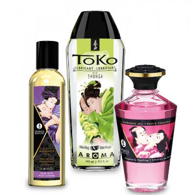 Kit de aceite y lubricante de aromas varios