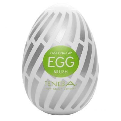Huevo masturbador brush portatil Tenga