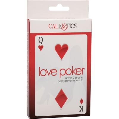 Juego de cartas love poker de CalExotics