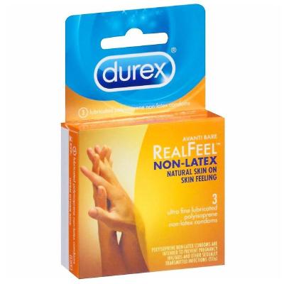 Preservativos Durex Real Feel 3 unidades