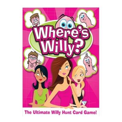 Juego de cartas donde esta Willy
