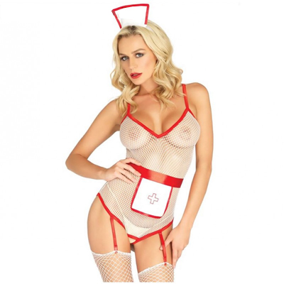 Conjunto Led Avenue disfraz de enfermera