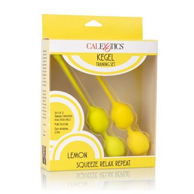 Juego de entrenamiento Lemon Kegel de 2 piezas