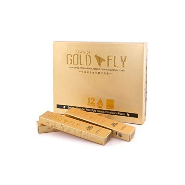 Afrodisiaco gold fly Set X 3