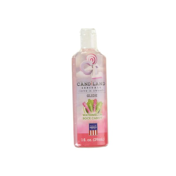 Aceite Caliente Candiland Watermelon Rock Candy 1 Oz